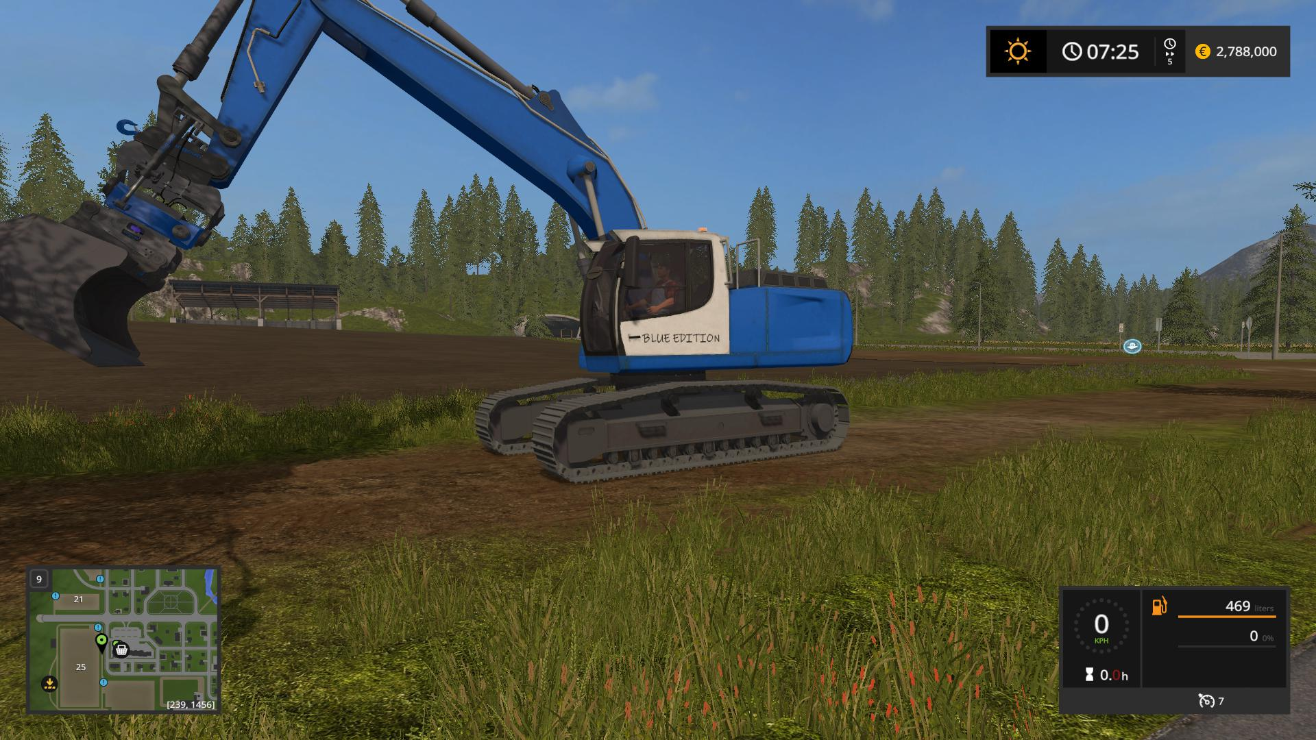 Liebherr 936 Blue Edition ( FUN EDITION) v 1.0