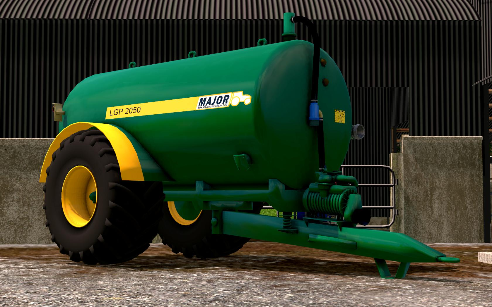 Major slurry tanker v 1.0