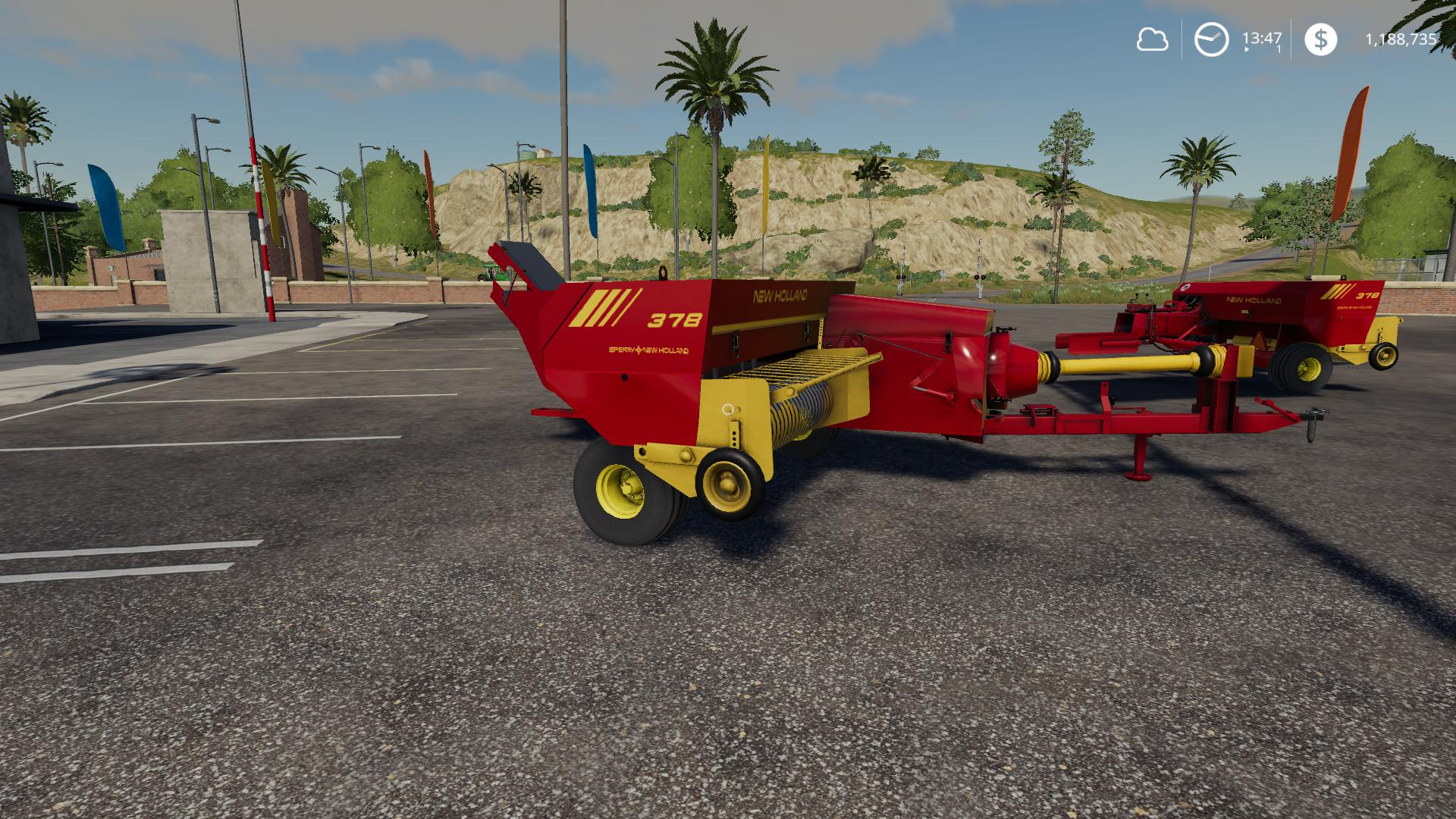 NH 378 Baler with Options v 1.2