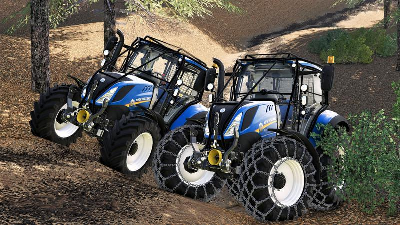 New holland T5 with forestry upgrade v 1.0