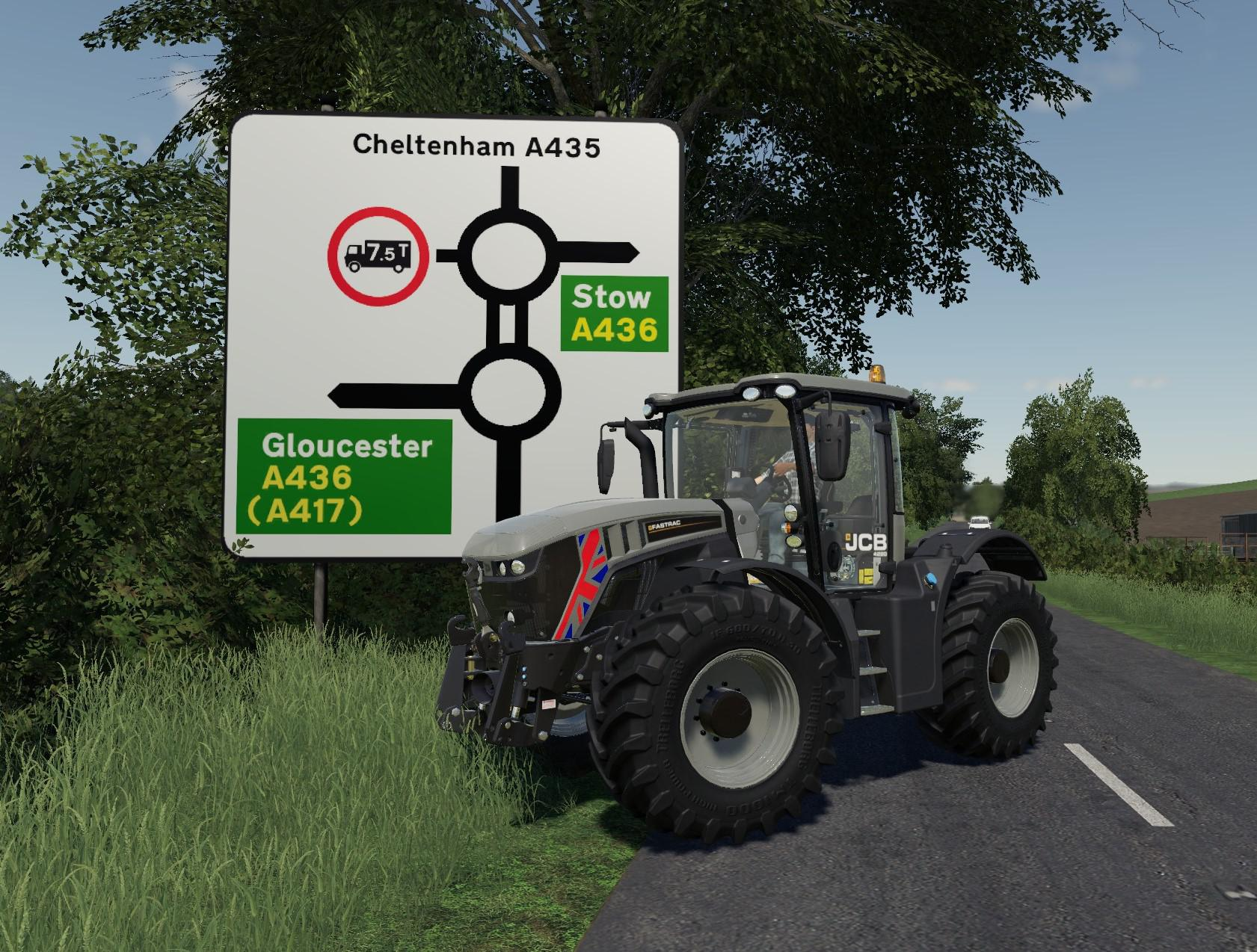 JCB Fastrac 25yrs Edition v 1.0