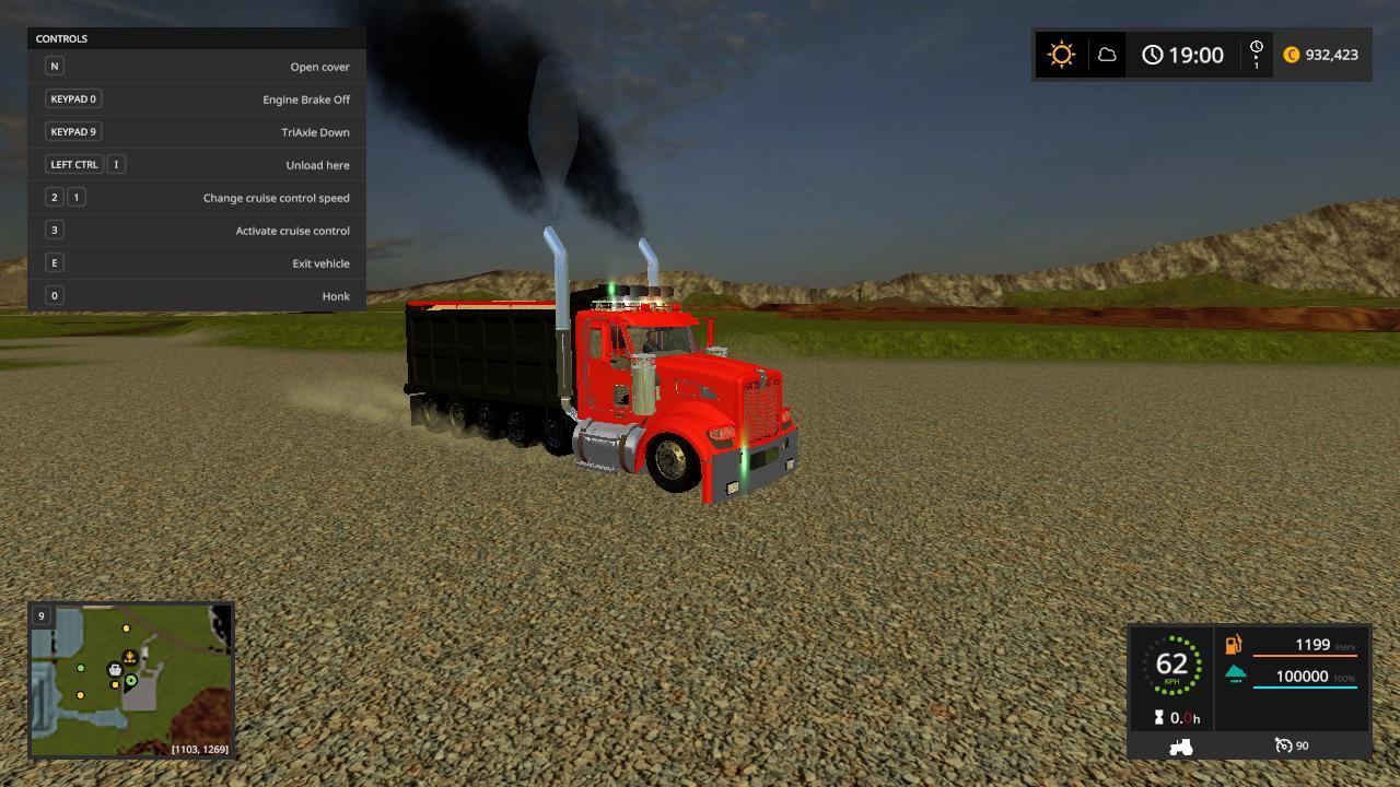 Kenwortht440 dump truck pack v 1.0.0.2