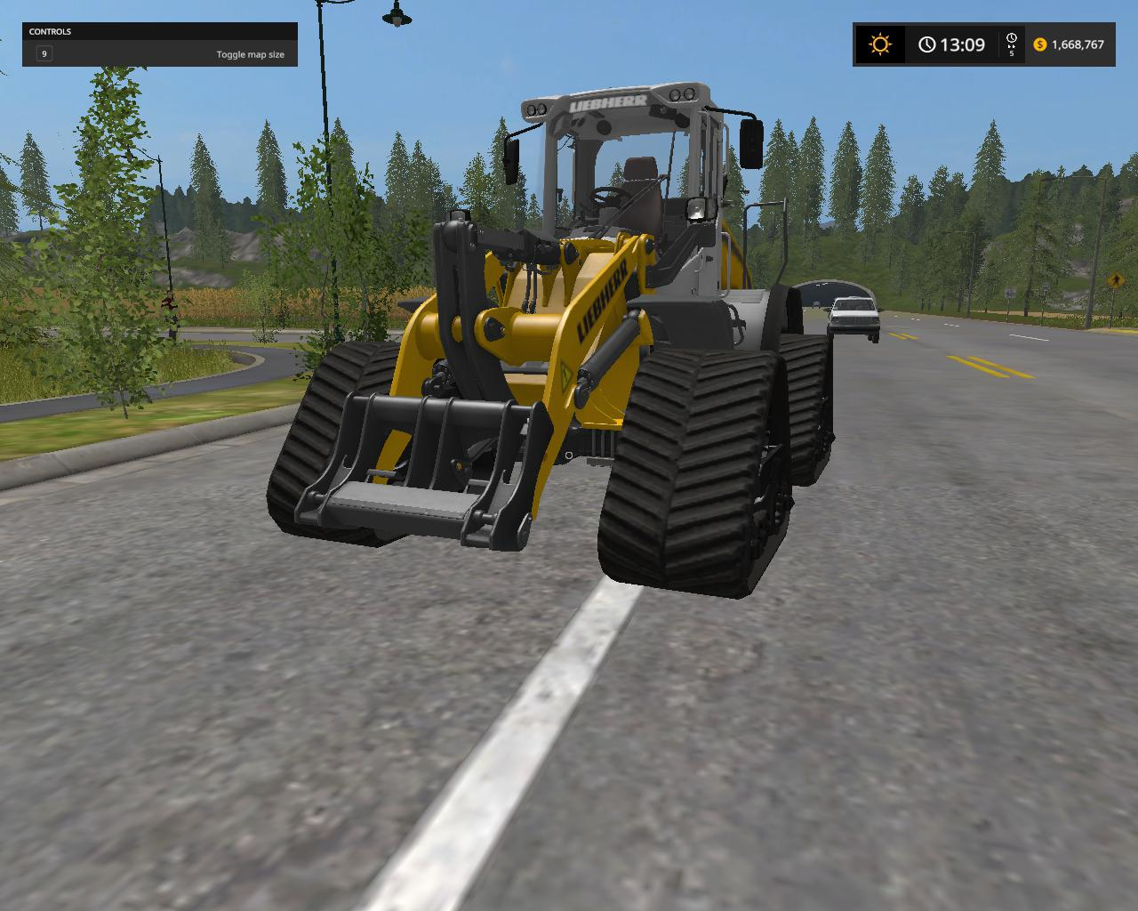 Liebherr L538 Tracked Loader v 1.0