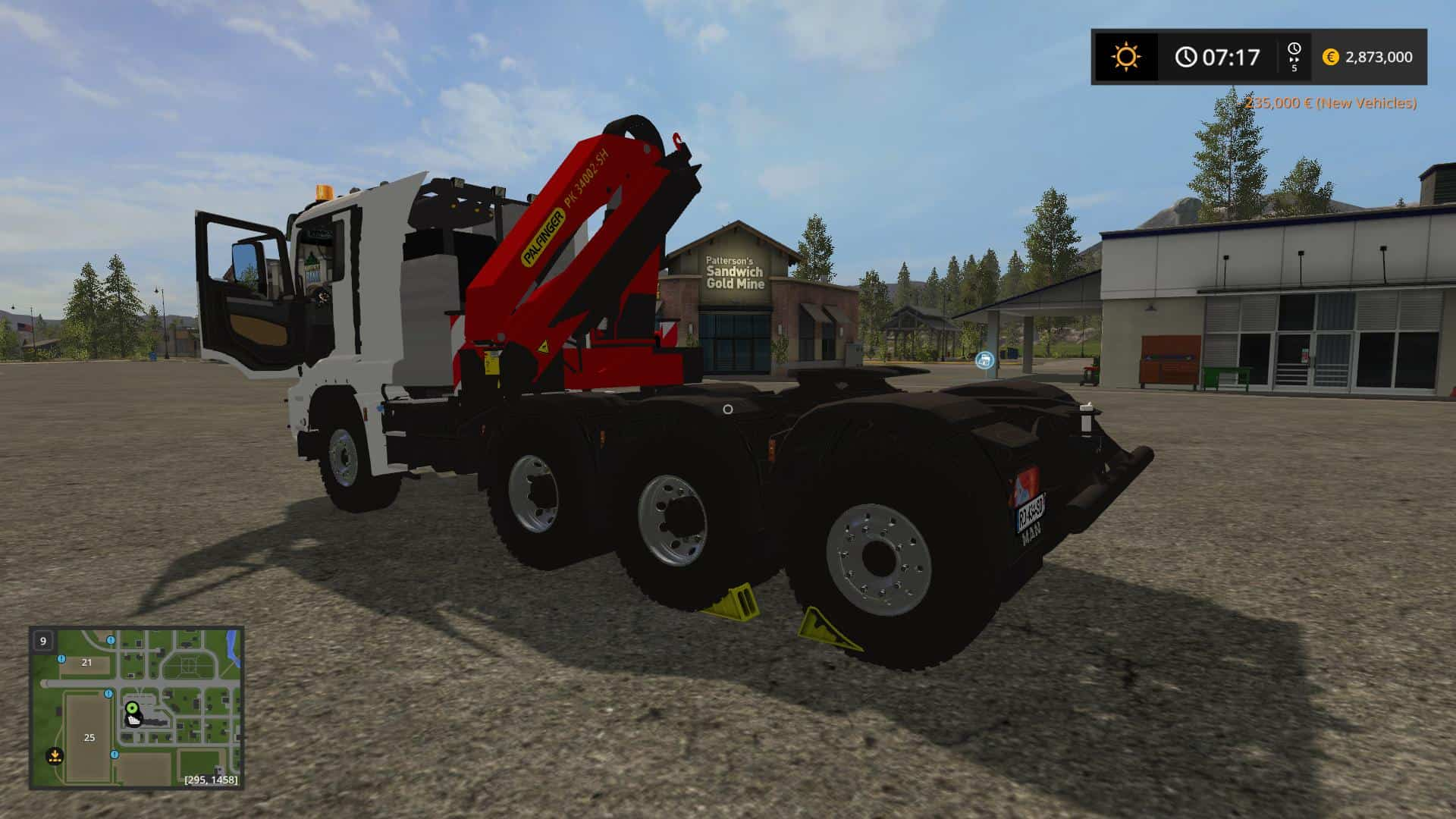 MAN 8x2 Tractur (TPM Version) v 1.0