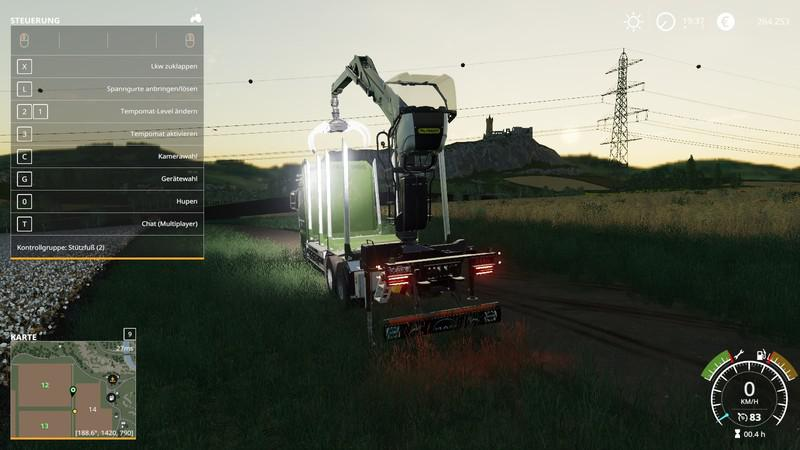 MAN forest truck MP v 1.4.6