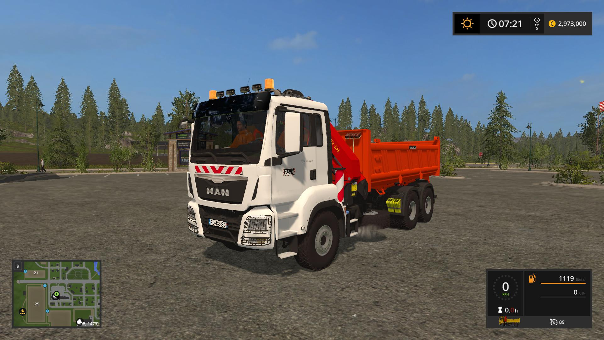 Man Crane Tipper (TPM Version) v 1.0