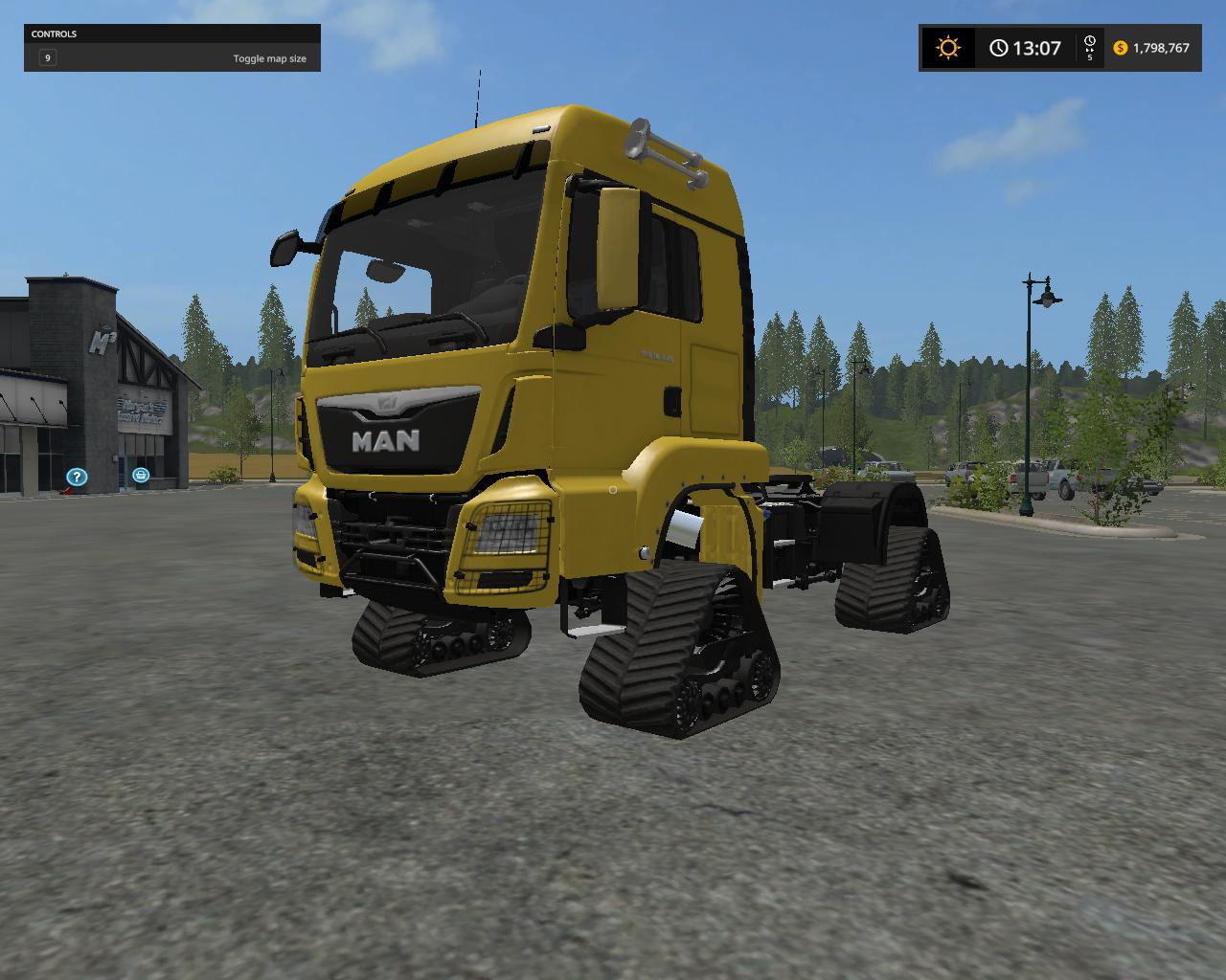 Man tracked semi v 1.1