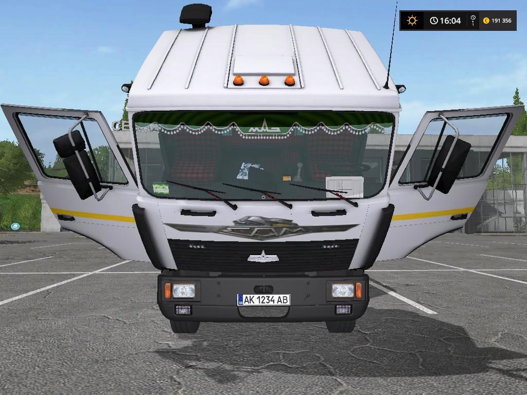 Maz 6303 AND TRAILER v 1.3.0.01