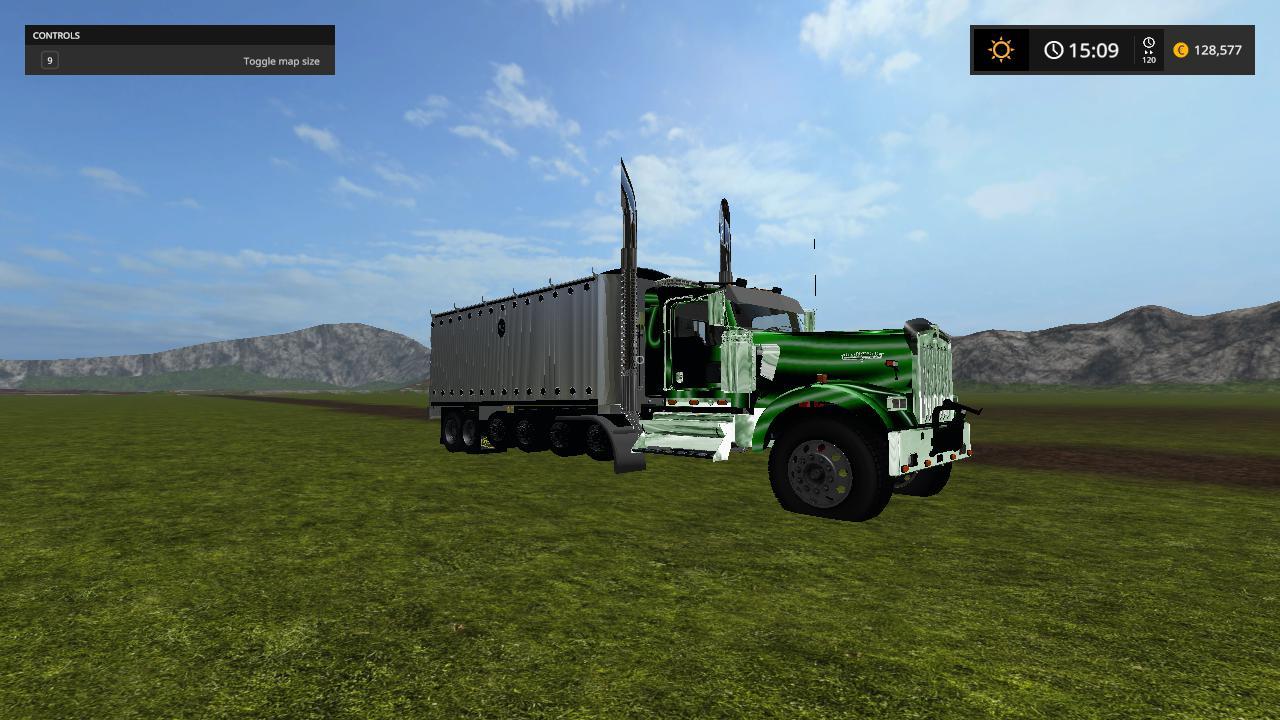 Randy Manning KW900l show dump truck v 1.0.0.6