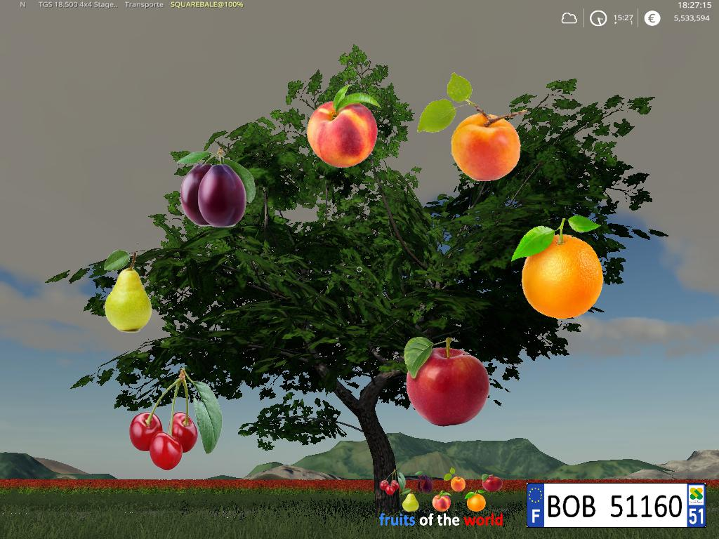 Fruits Trees By BOB51160 v 1.0
