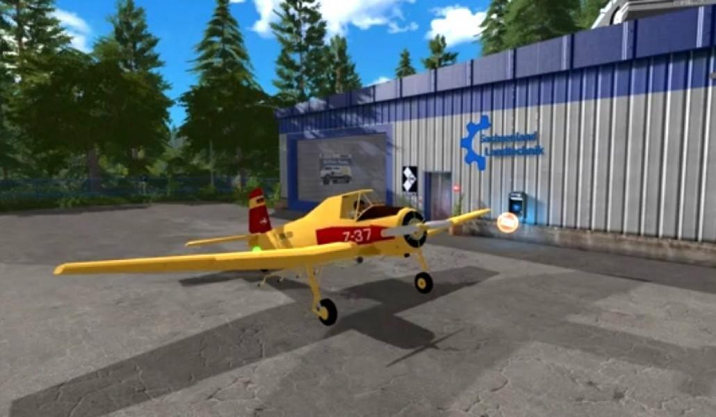 Hummel Z-37 Flying Fertilizer Spreader v 1.0