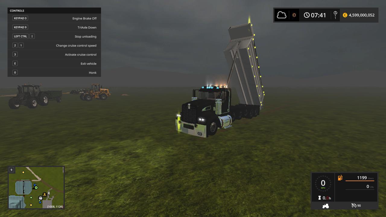Kenworth T440V2 dump truck v 1.0.0.2