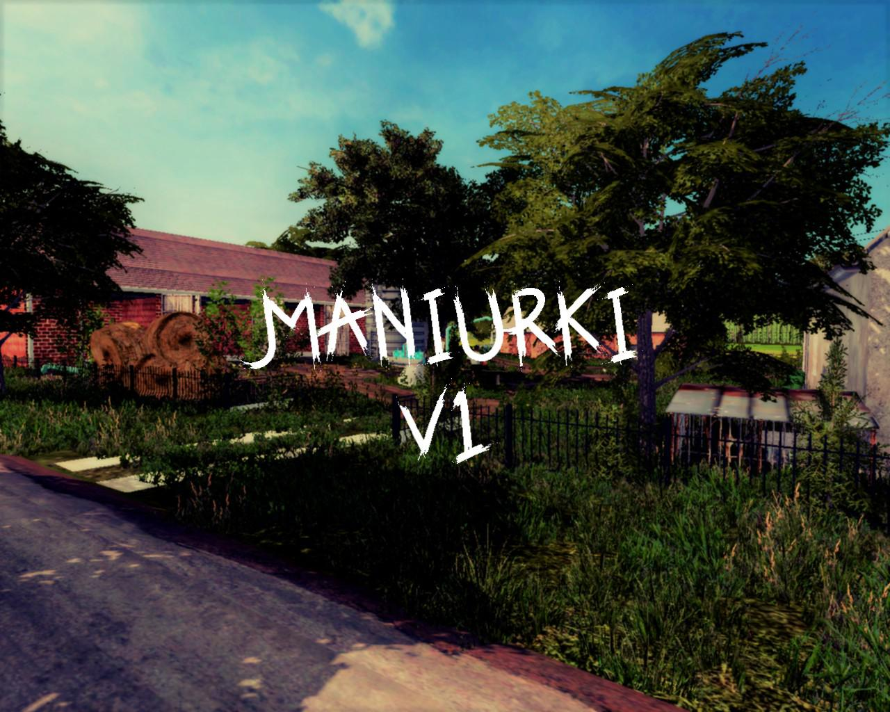Maniurki Map v 1.0