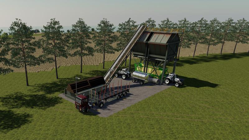 Global company placeable wood chipper v1.0