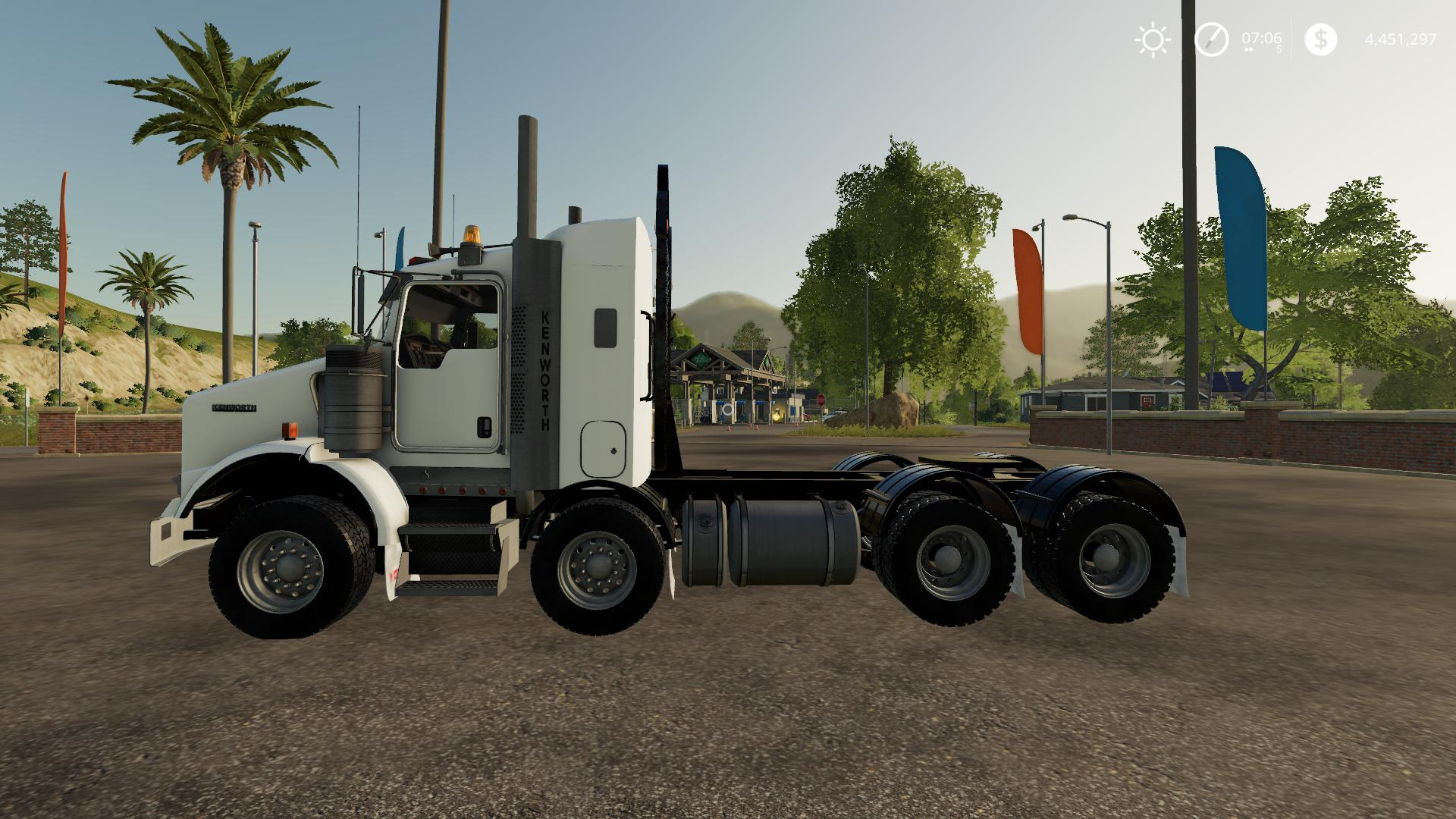 Kenworth T800B TwinSteer v1.0