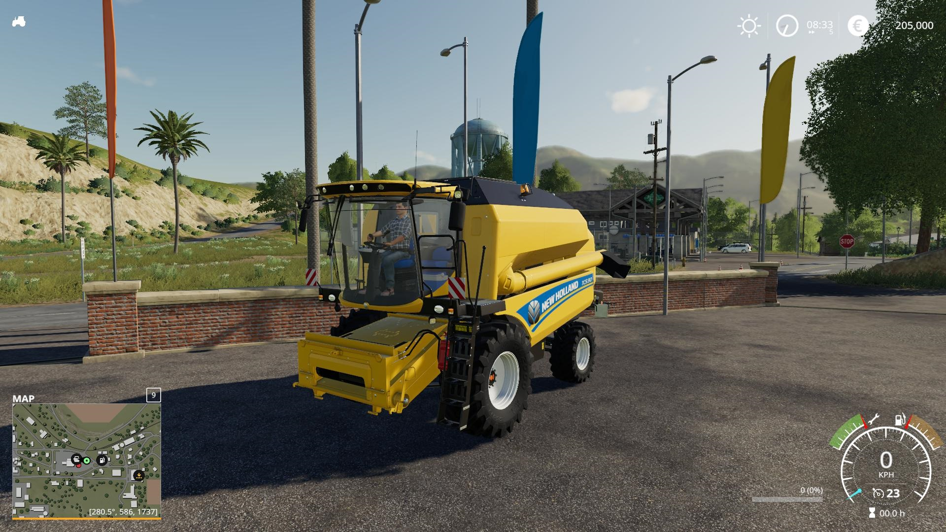 New Holland TC 5.90 - light Extension v1.0