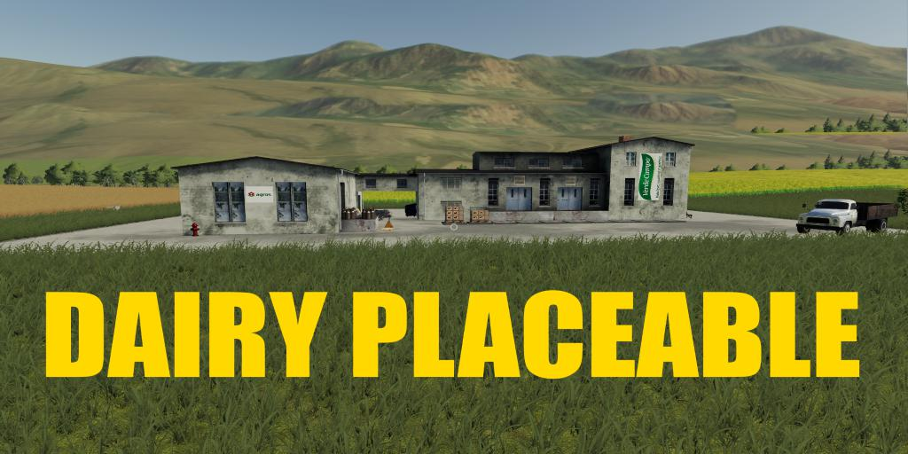 Dairy Placeable v1.0