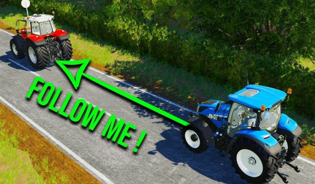 FS19 FOLLOW ME [UPDATE] v1.0.1.1