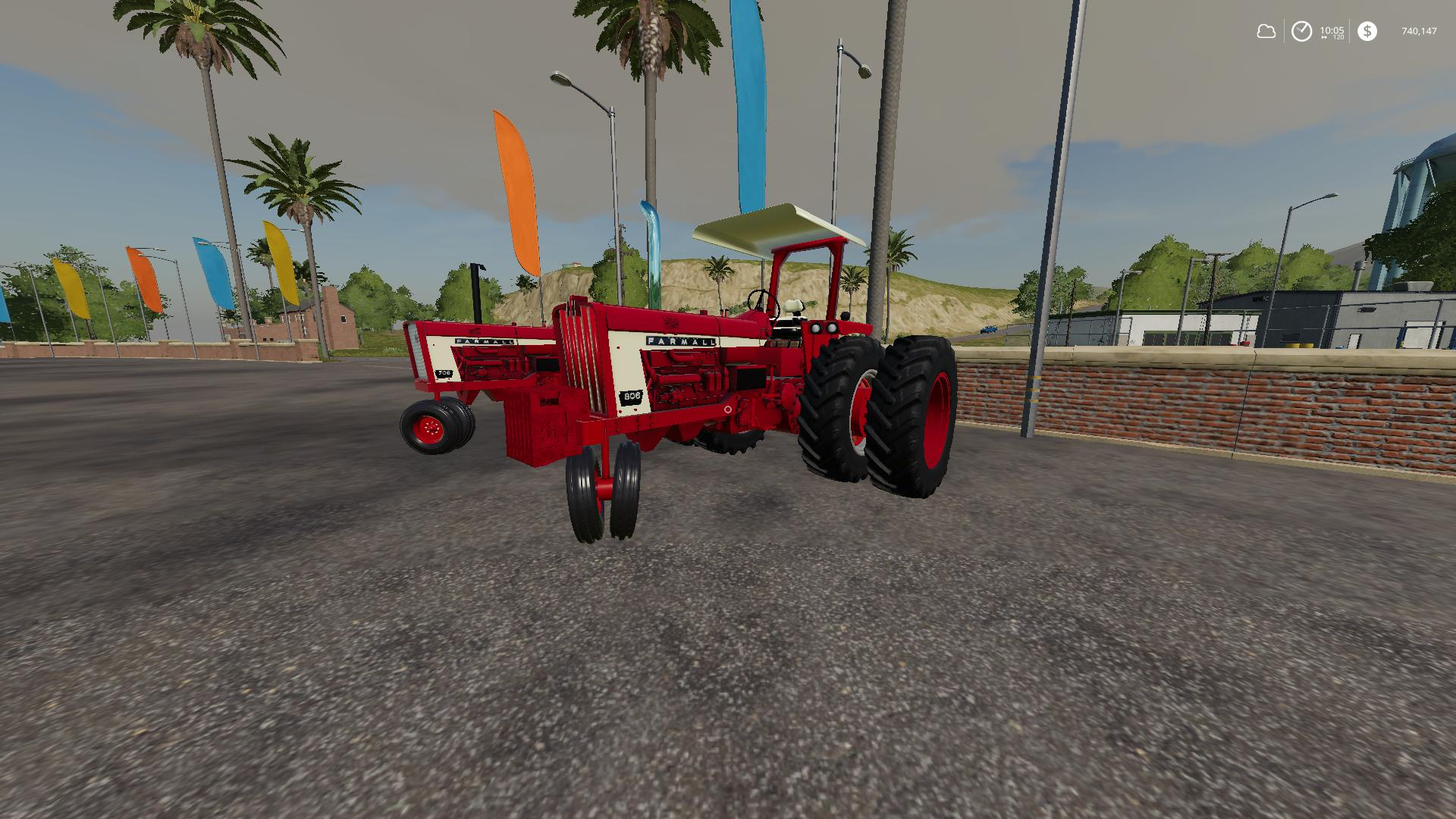 Farmall 706/806 Narrow front v1.0