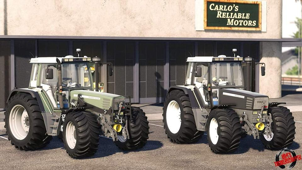Fendt Favorit 500 Seriesumbau v1.0