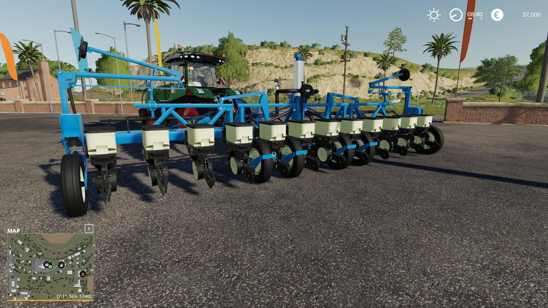 Kinze 3600 12 Row Planter v1.0