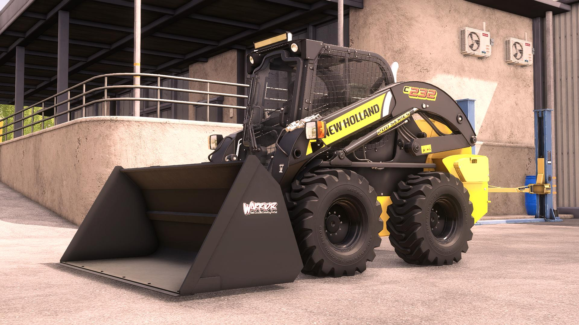 New Holland L234 Skidsteer v1.0