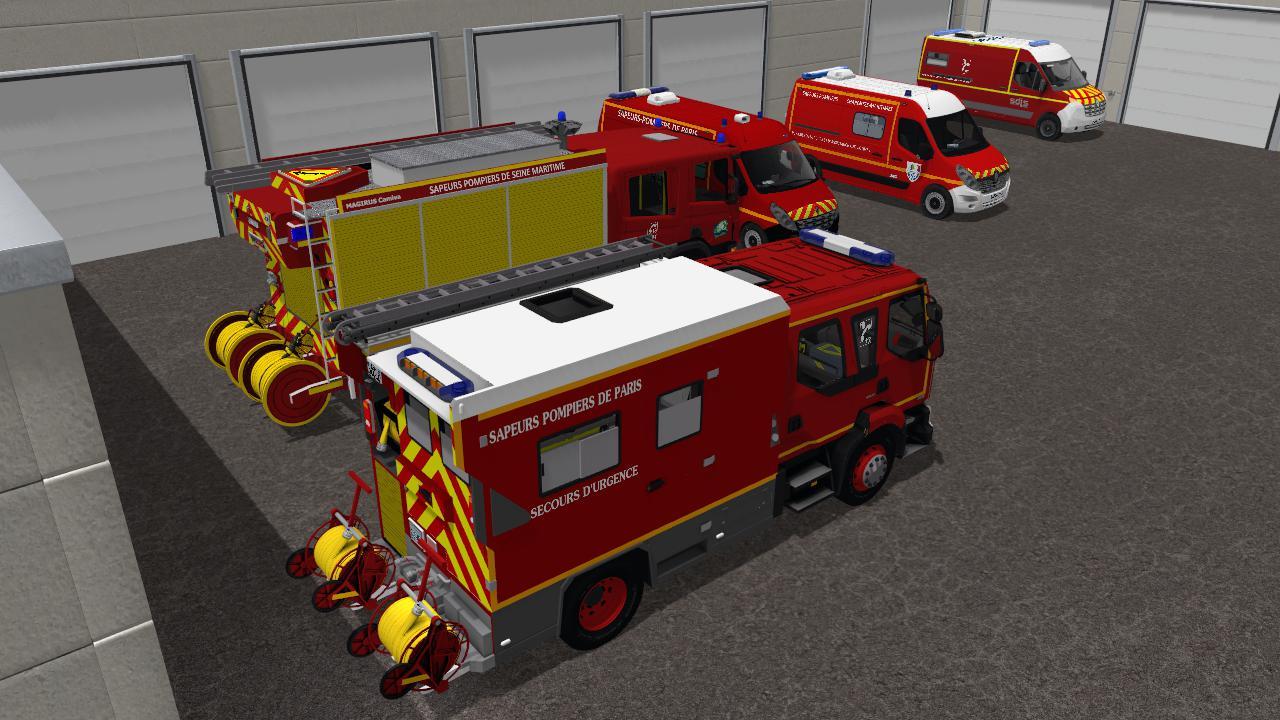 Pack Sapeurs Pompiers v1.0