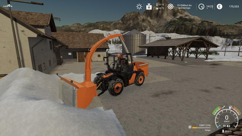 Snow melter pack v1.0