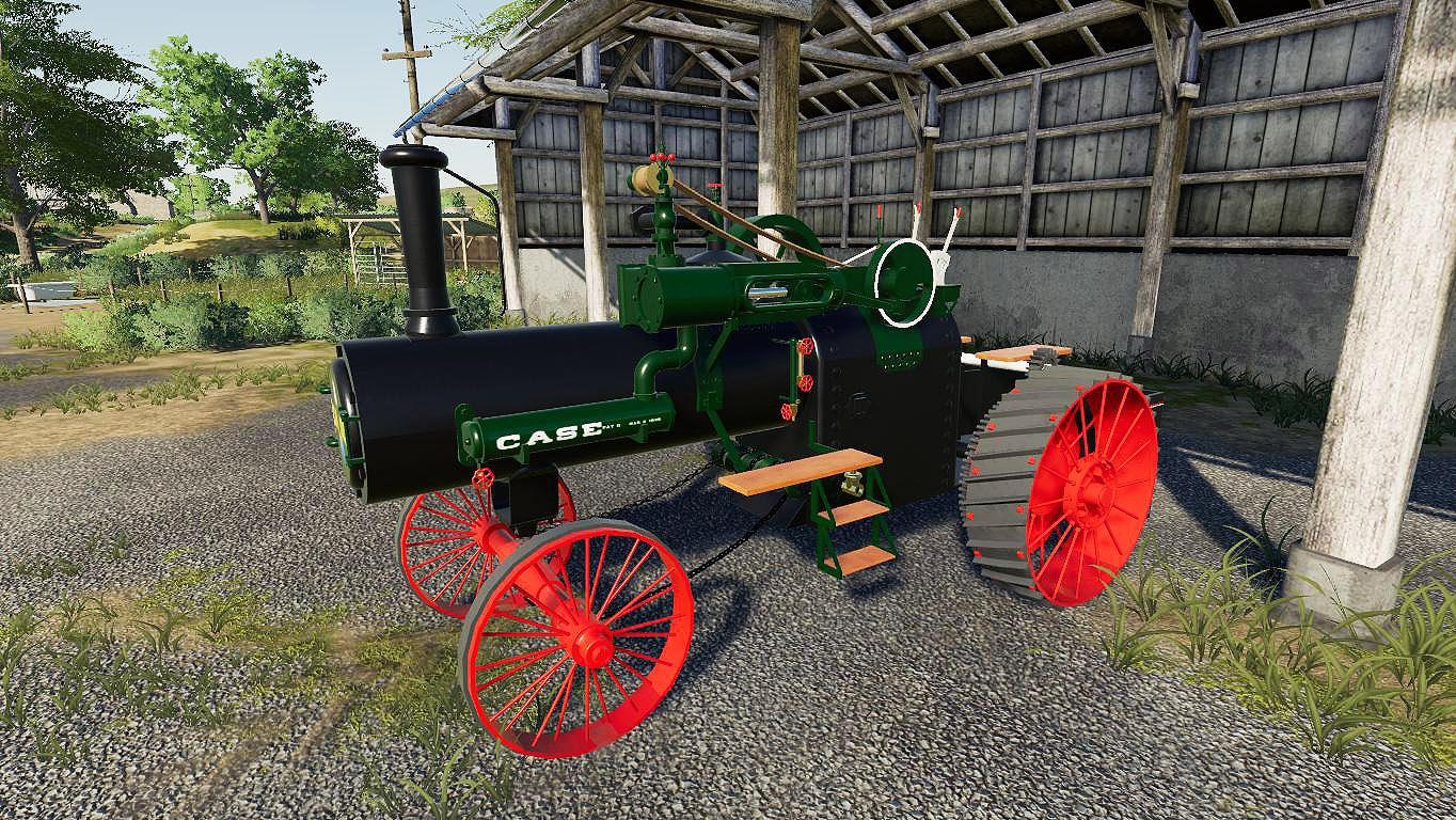 WMF Case 1919 Steam Tractor v1.0