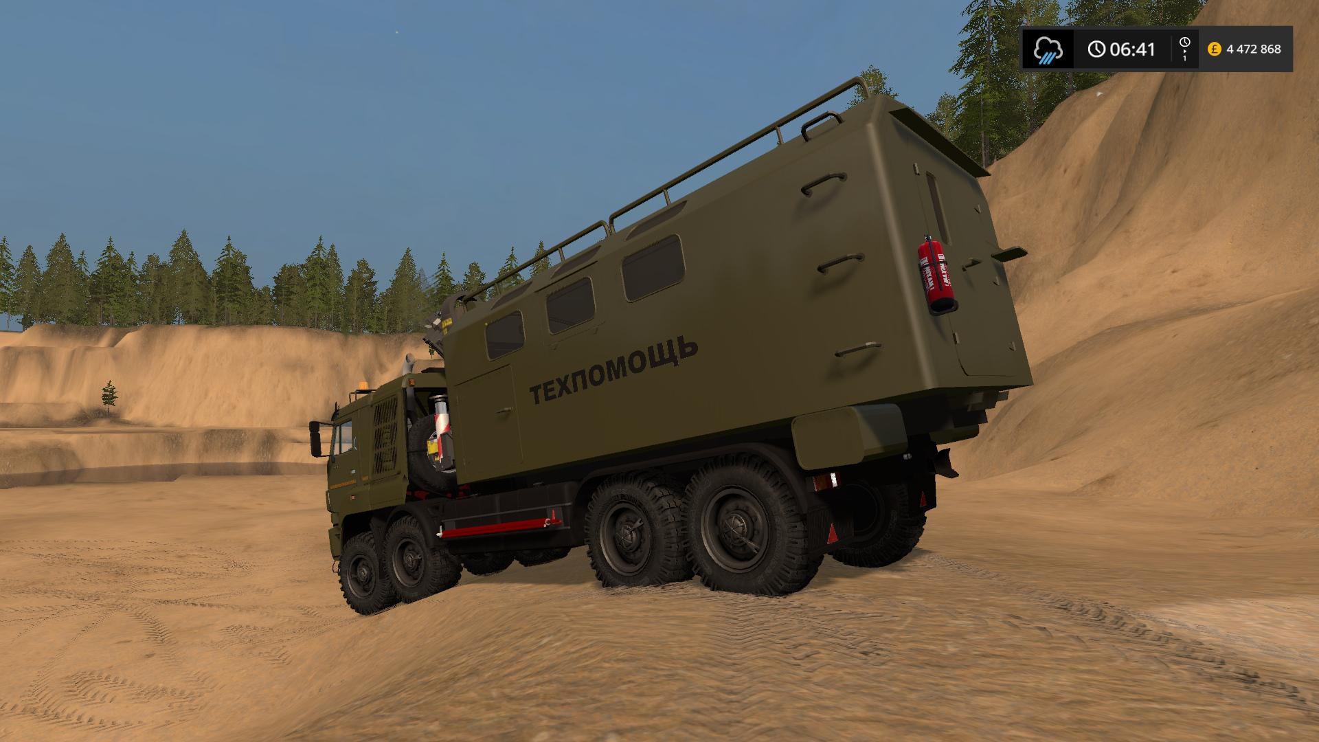 Russia Kamaz Pack Allterrain v1.0