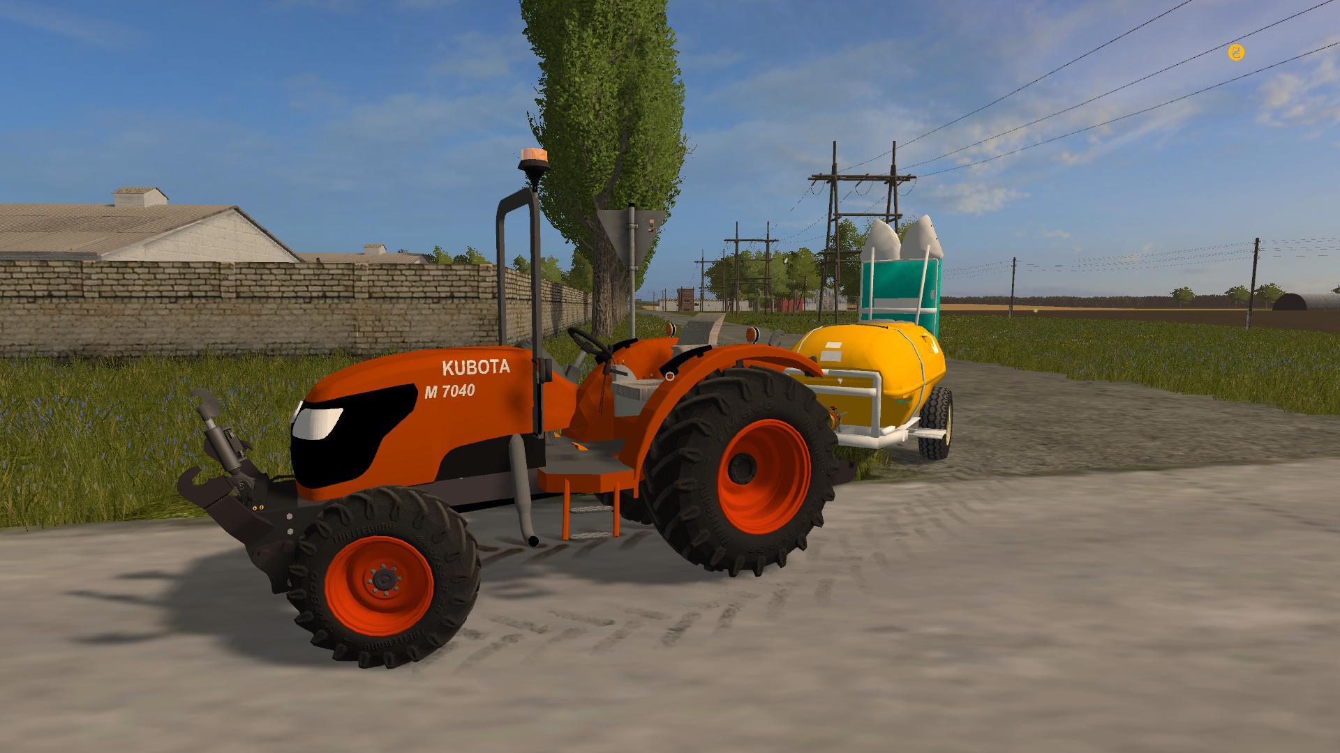KUBOTA M7040 NARROW V1.0