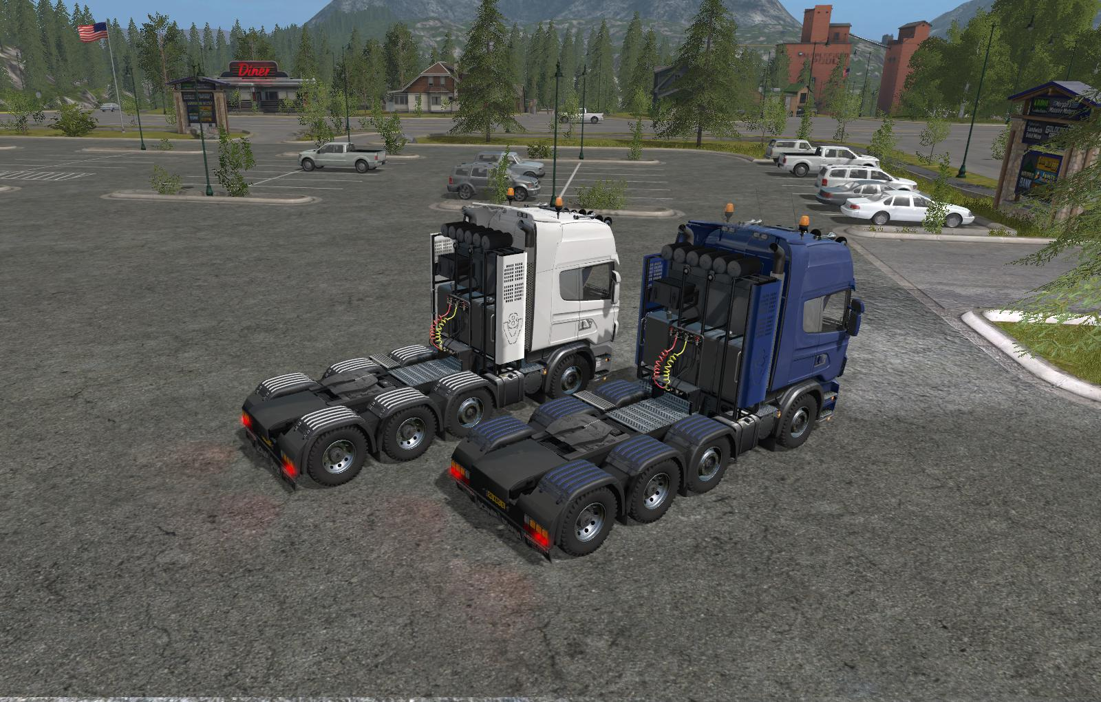 SCANIA AGROTRUCK PACK V1.1A