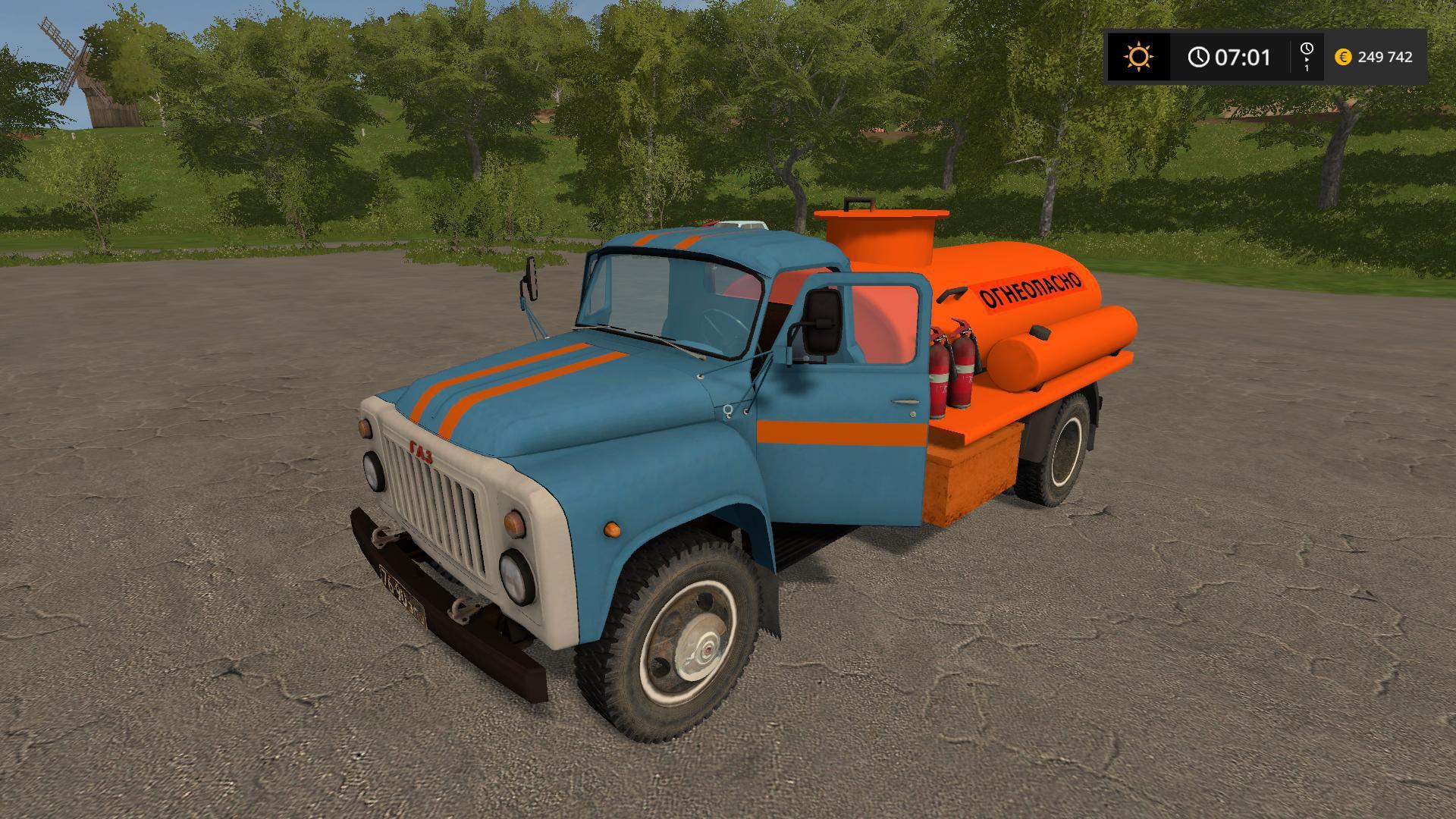 GAZ-53 FUEL TRUCK V1.1