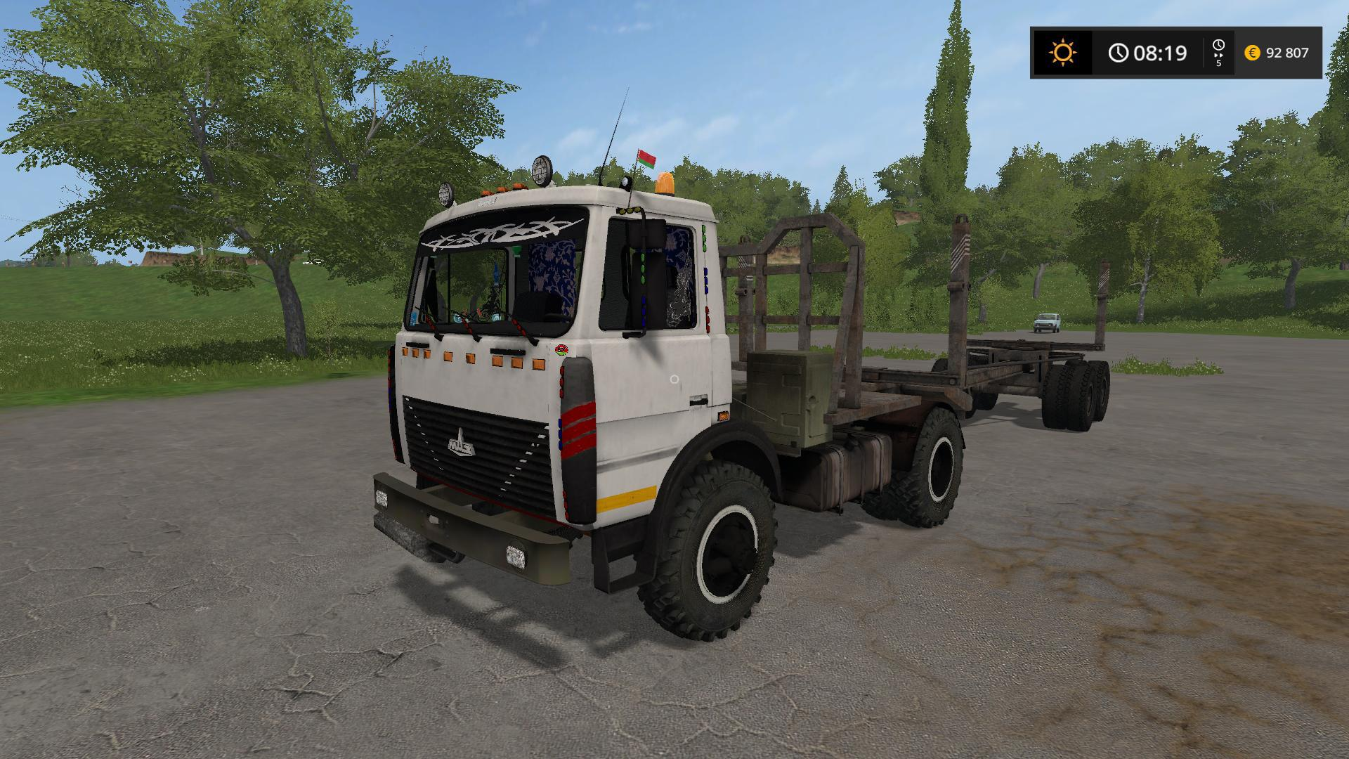 MAZ 504 TIMBER CARRIER V1.0