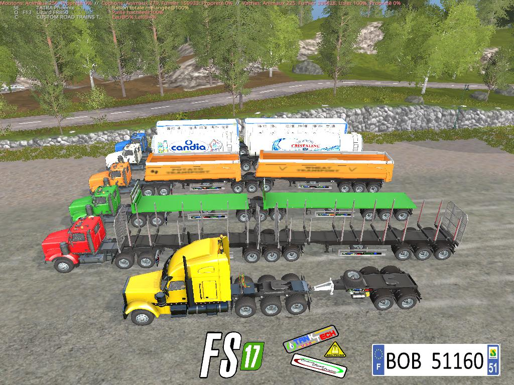 ROADTRAINPACK BY BOB51160 V3.0