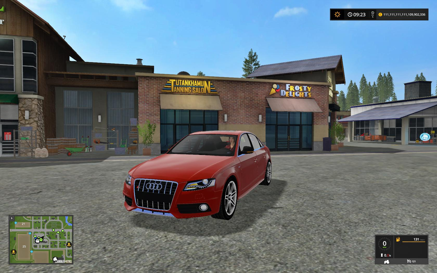AUDI RS4 FS17 V1.0