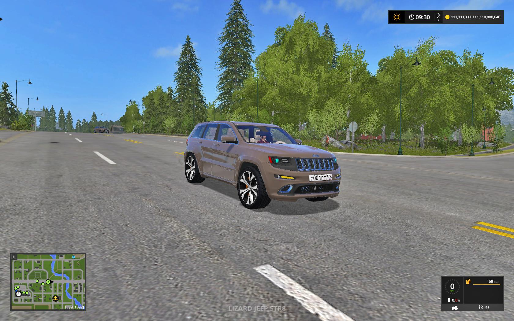 JEEP SRT8 FS17 V1.0