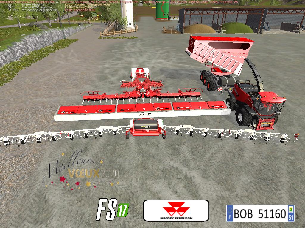 PACK1 MASSEY FERGUSON BY BOB51160 V1.0