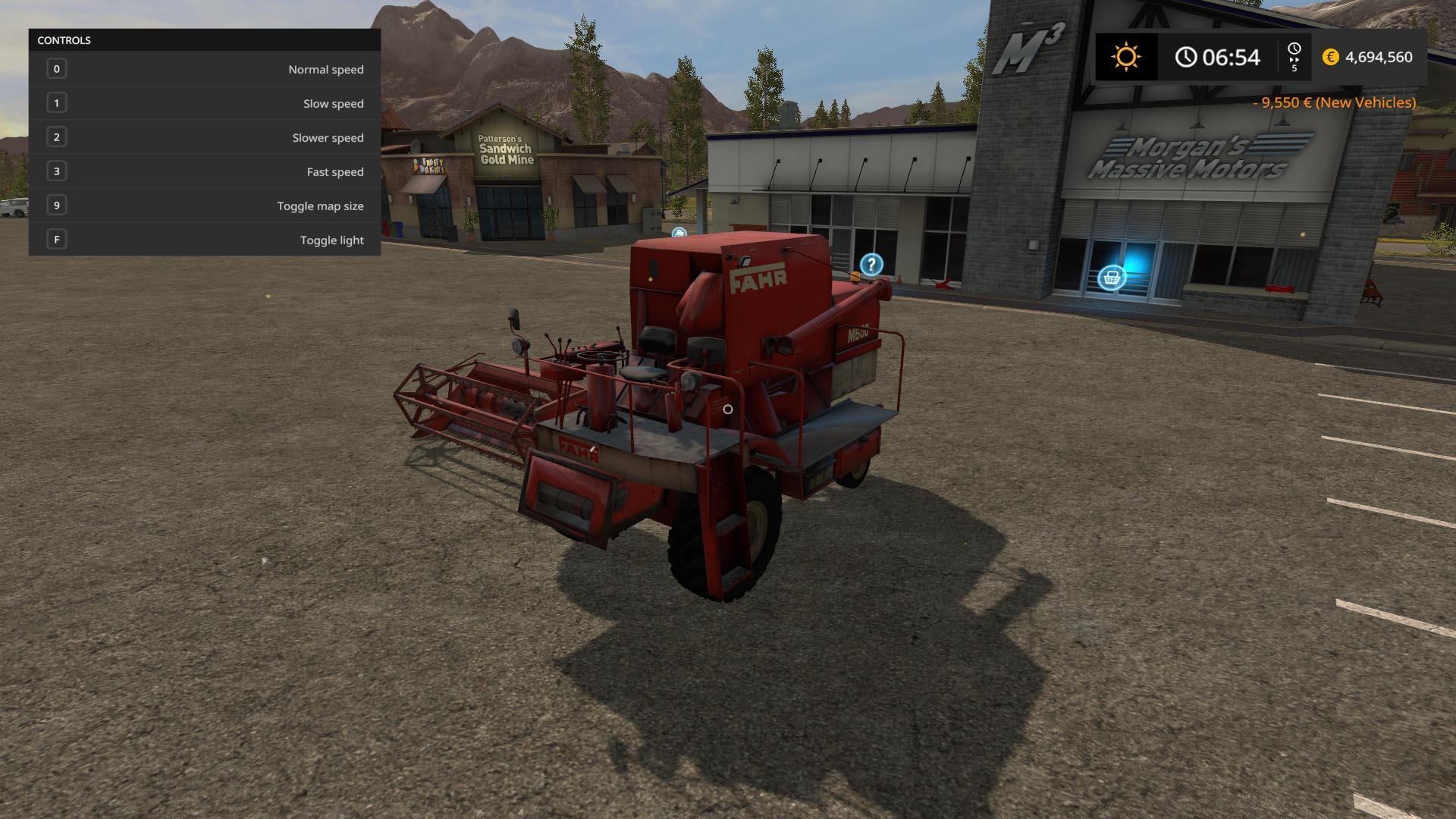 FAHR M600 combine