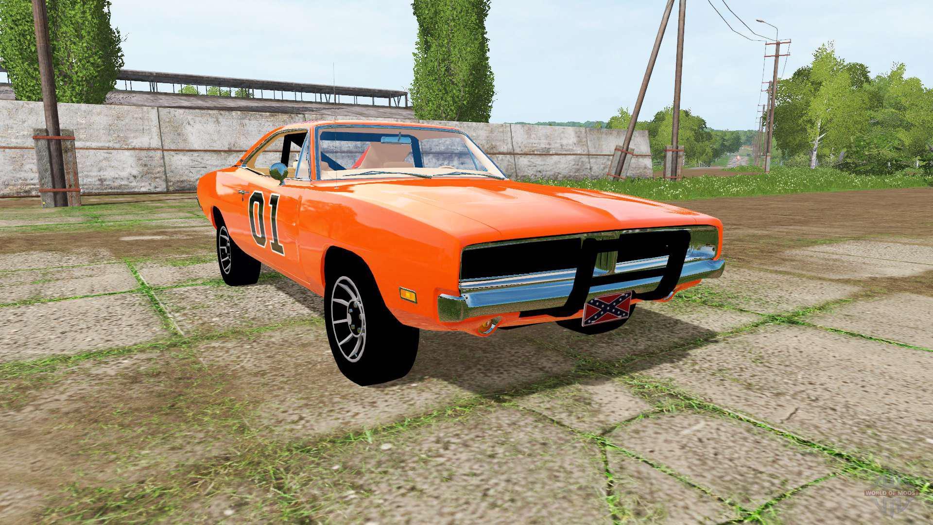 GENERAL LEE 1969 DODGE CHARGER V1.0