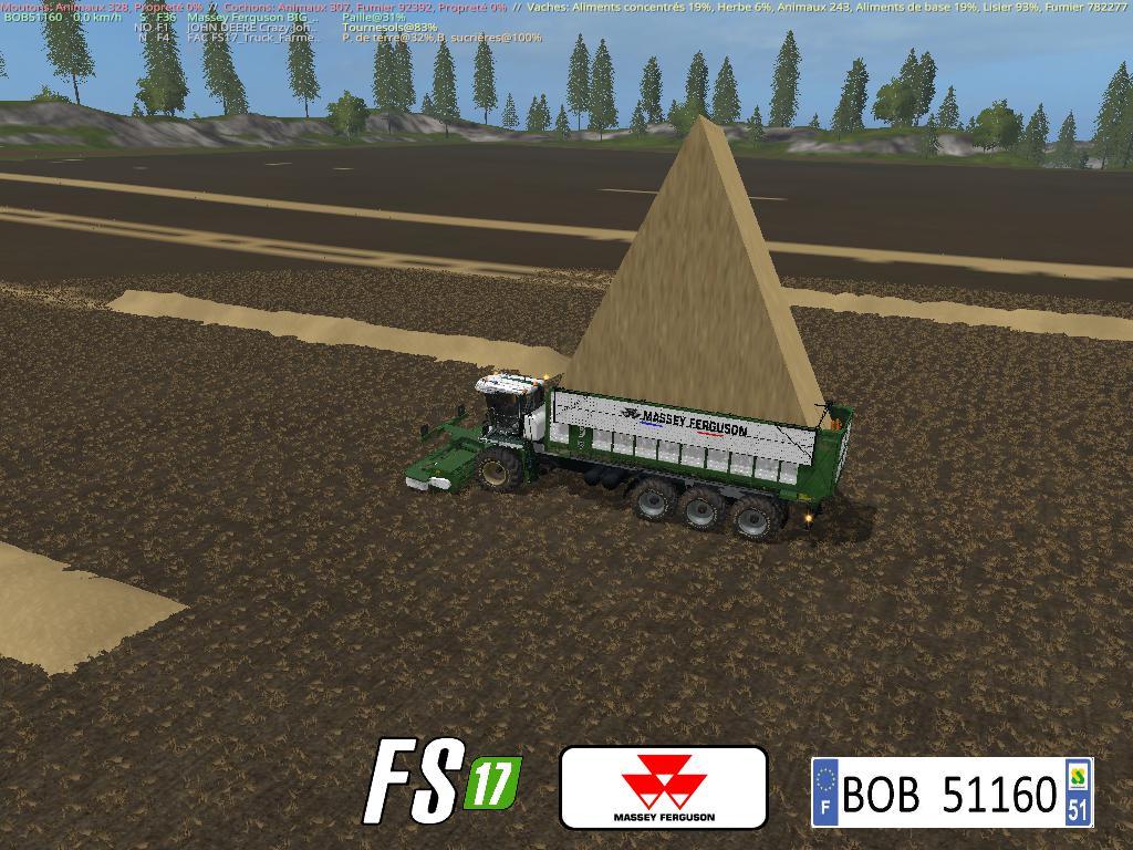KRONE BIG 50M AND 500K BY BOB51160 V3.0