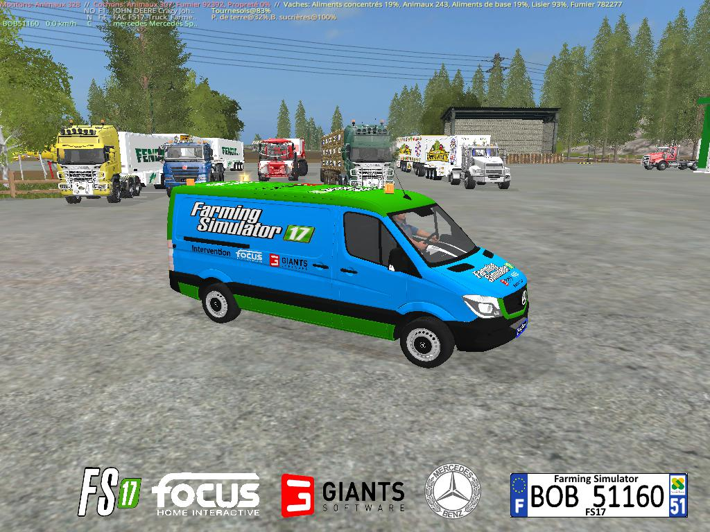 MERCEDES SPINTER FS17 BY BOB51160 V1.0