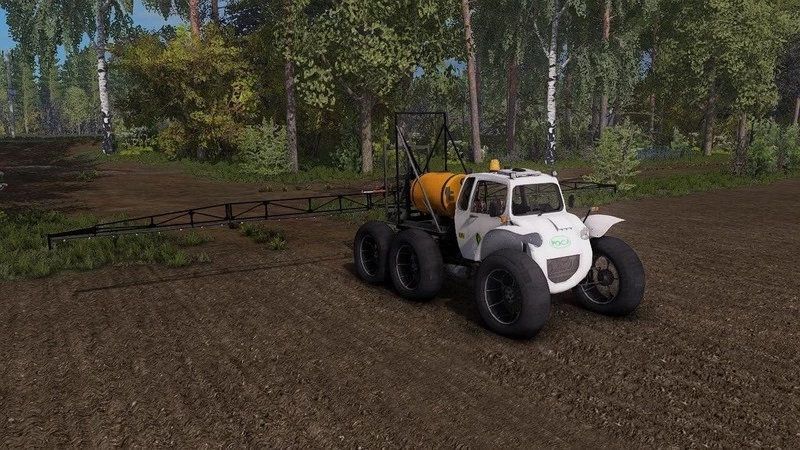 SELF-PROPELLED SPRAYER ROSA V1.0